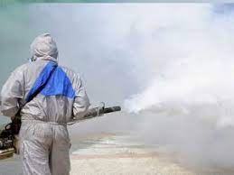 Specialized disinfectant fogging services